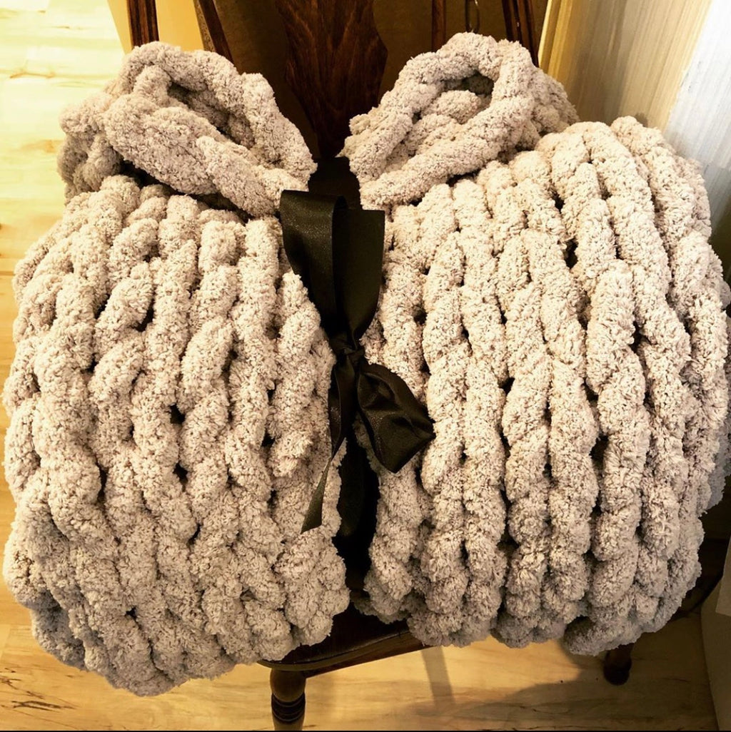 Chunky Blanket Class February 20th 11AM-2PM