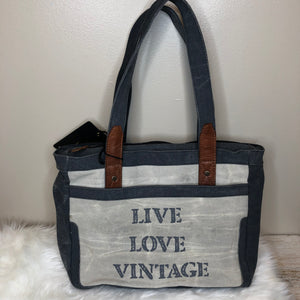 Mona B Canvas Bag/Purse