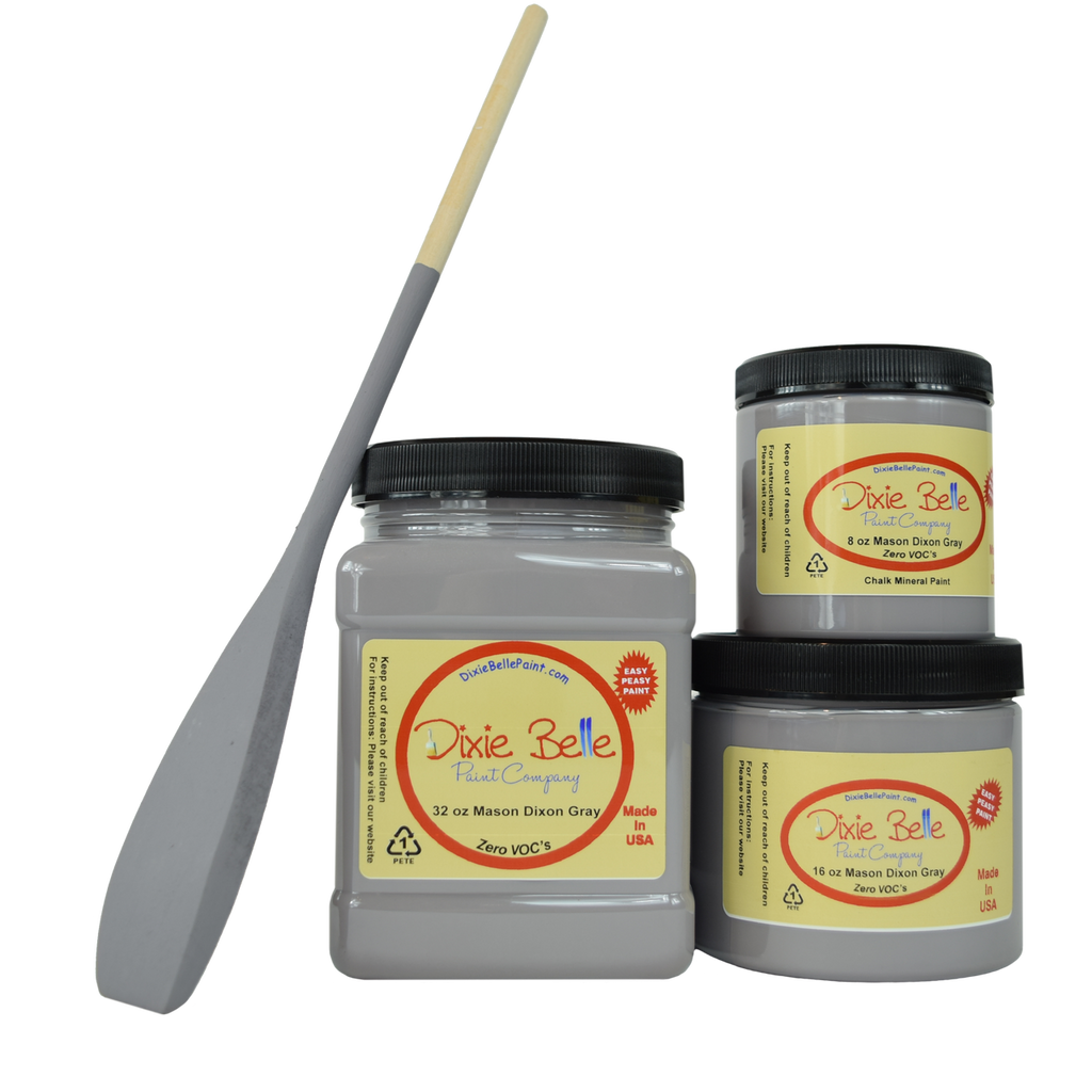 Mason Dixie Gray Chalk Mineral Paint