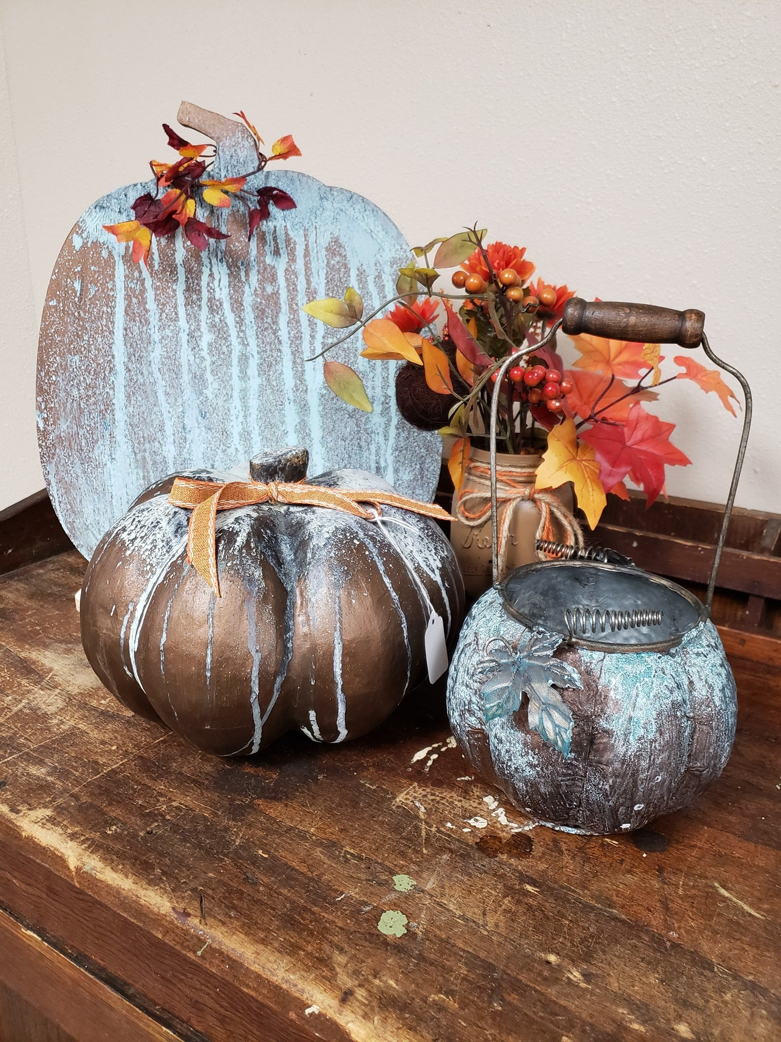 Pumpkin Patina Workshop Thursday September 26th, 2019 6PM