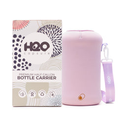 Lilac Sleeve - H2O Capsule Half Gallon Water Bottle Carrier with Strap