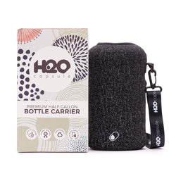 Cosmic Rain Sleeve - H2O Capsule Half Gallon Reflective Water Bottle Carrier with Strap