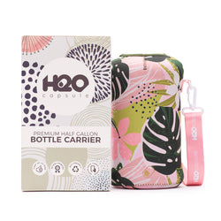 Hawaii Haven Sleeve - H2O Capsule Half Gallon Water Bottle Carrier with Strap