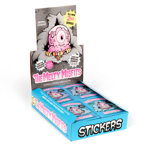 Unopened Box of The Melty Misfits Series 2