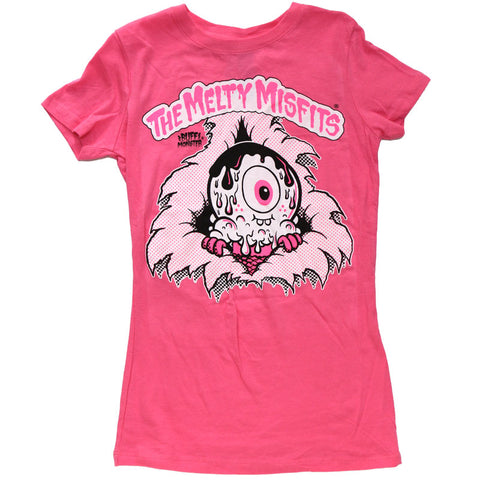 Women's Melty Misfits Shirt - Pink