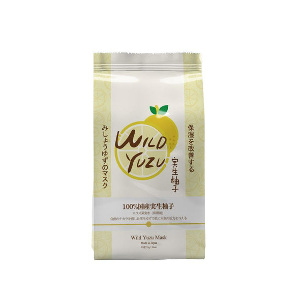 Sincere Laura Wild Yuzu Facial Essence Mask 31 Pieces/Pack SB031-C-0 - Mitomo America