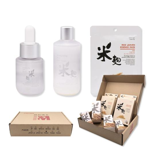 Mitomo TX001 Rice Leaven Series Wholesale Starter Kit Skin Toner [Total 6 Items/Box] - Mitomo America