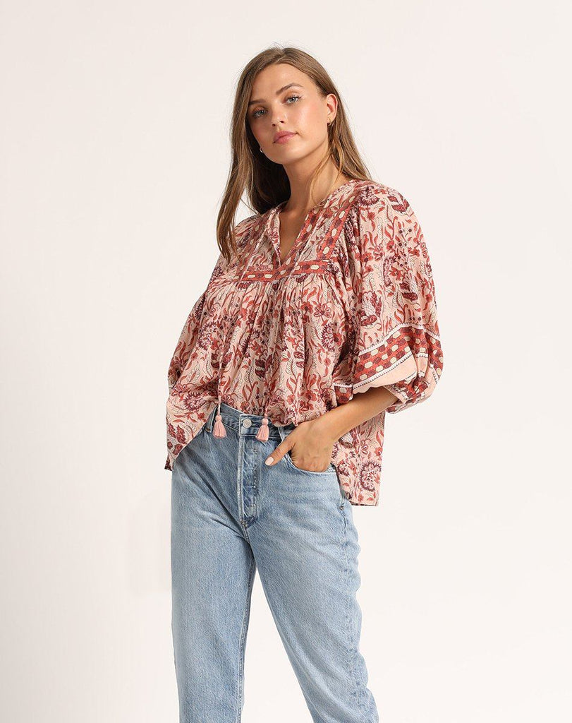 AMY BLOUSE Tops Cleobella