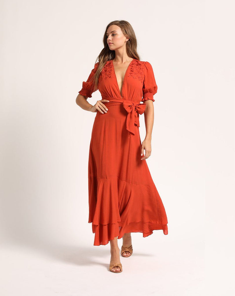 ARZO MIDI DRESS Dresses Cleobella