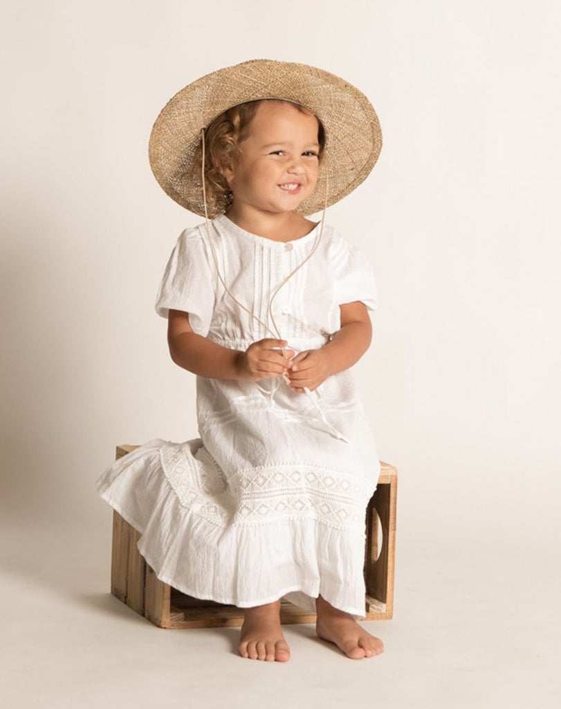 BONITA DRESS WHITE Dresses Cleobella Littles