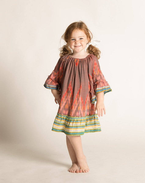 BONNIE DRESS SPICE IKAT Dresses Cleobella Littles
