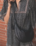 Dalary Hobo Bag Black Totes Cleobella
