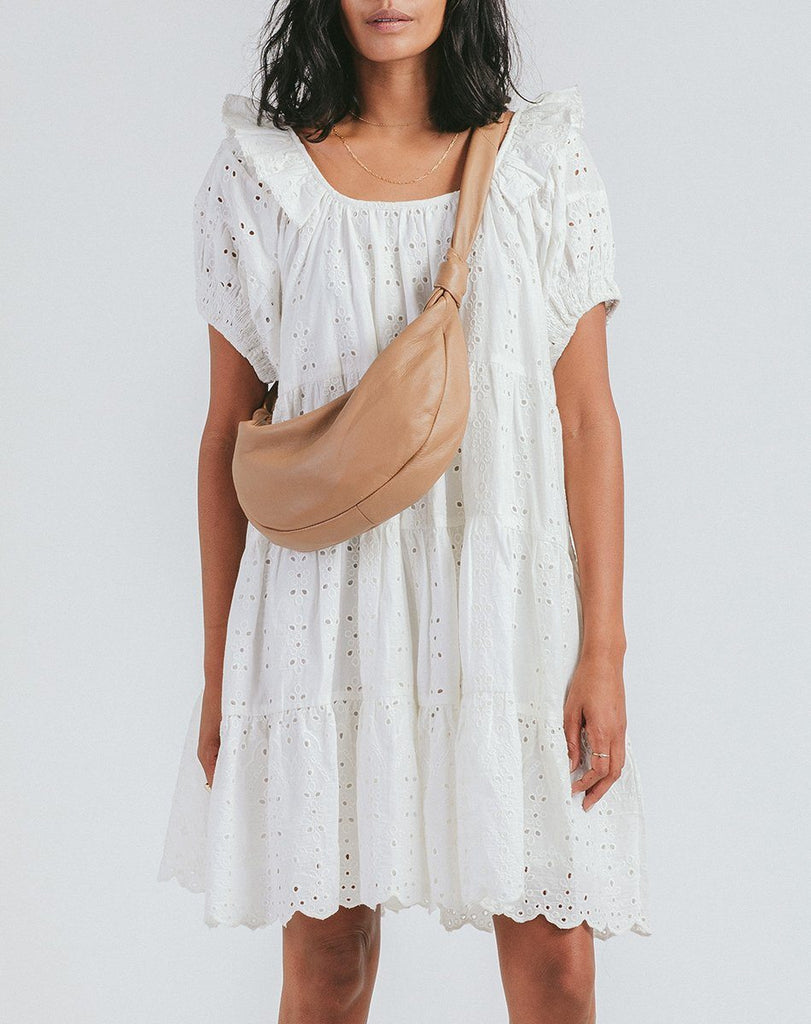 Dalary Hobo Bag Nude Totes Cleobella