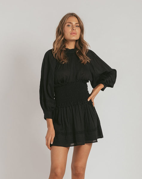HAYDEN DRESS BLACK Dresses Cleobella