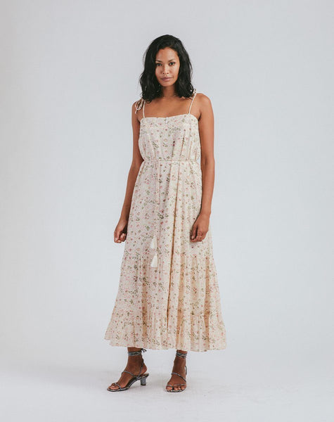 India Midi Dress | Victorian Floral Dresses Cleobella