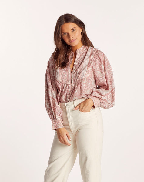 JULIAN BLOUSE Tops Cleobella