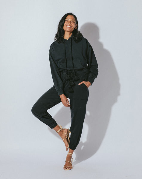 JUNIPER JOGGER BLACK Bottoms Cleobella