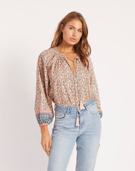 KAI BLOUSE SUNSET Tops Cleobella