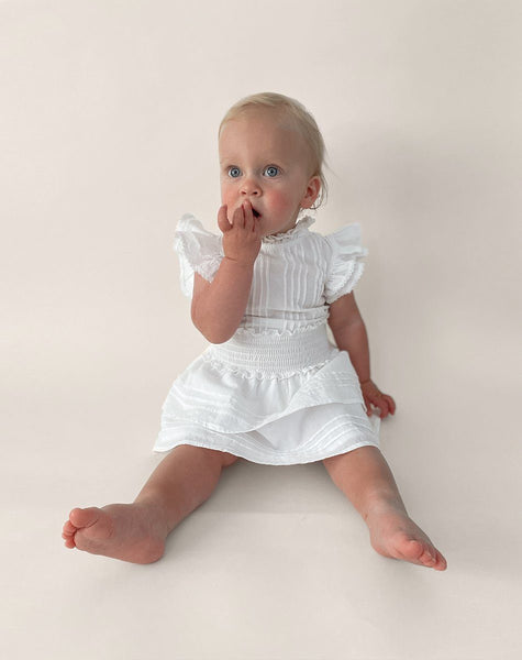 Littles VERSAILLES DRESS | White Dresses Cleobella Littles
