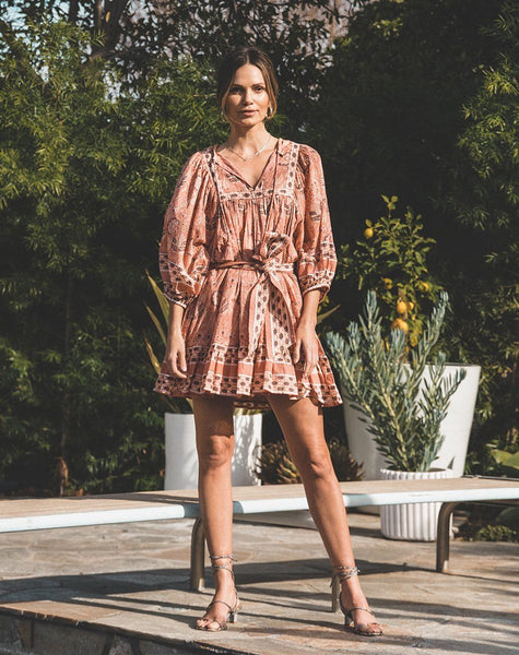 Magdalena Mini Dress Cherry Blossom Dresses Cleobella