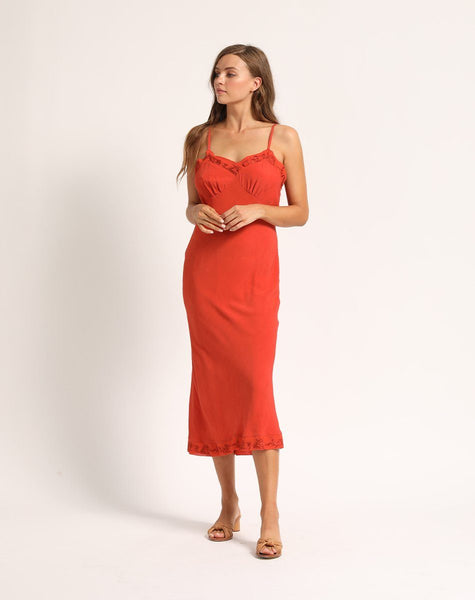 OPAL SLIP DRESS Dresses Cleobella