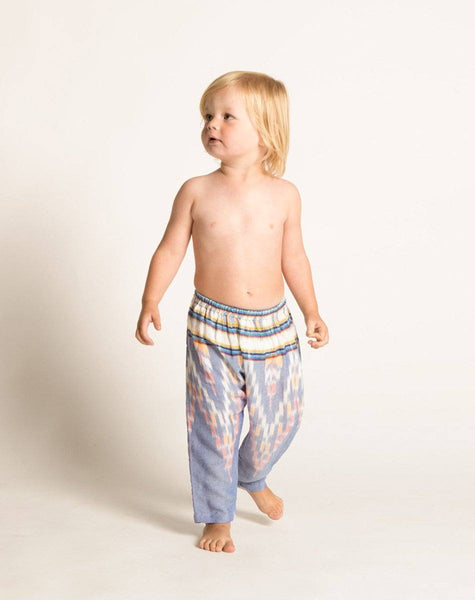RILEY HAREM PANT INDIGO Bottoms Cleobella Littles