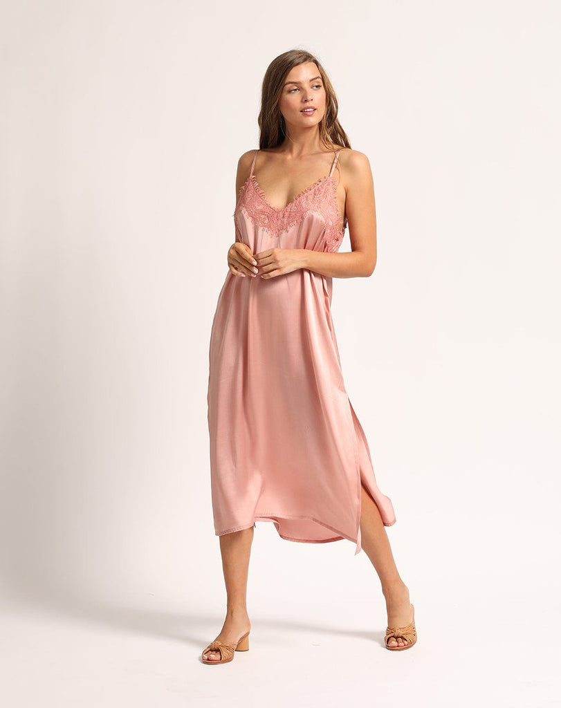 RIPLEY SLIP DRESS Dresses Cleobella