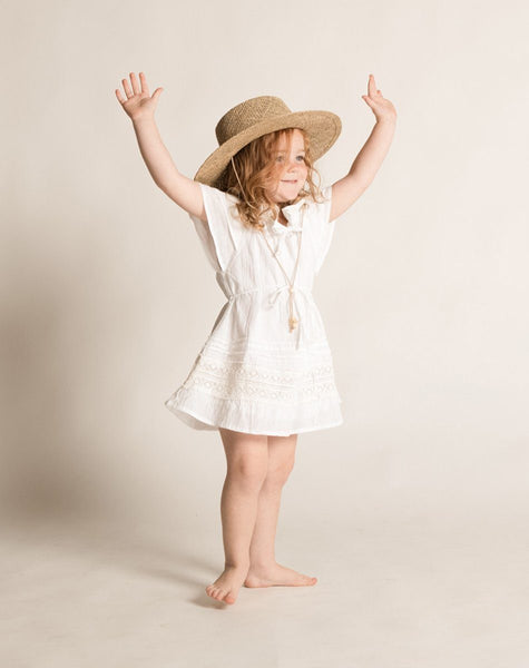 ROSE DRESS WHITE Dresses Cleobella Littles