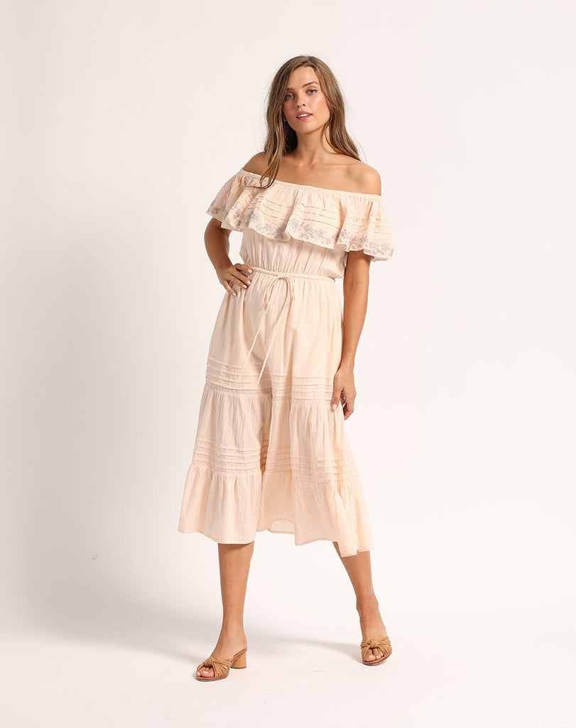 RUDRA MIDI DRESS Dresses Cleobella