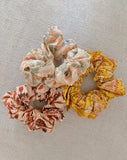 Scrunchie Set of 3 Accessories Cleobella