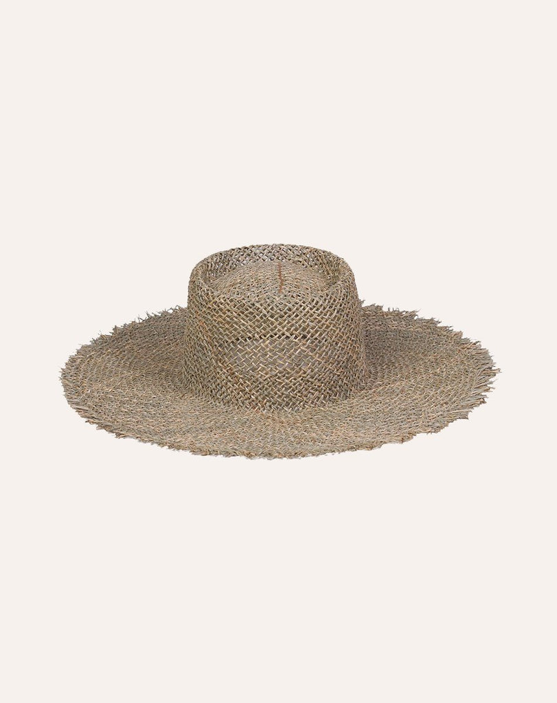Sunnydip Fray Boater HATS Lack of Color