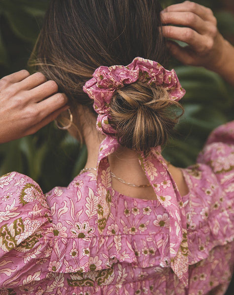 Tie Scrunchie | Wildflower Accessories Cleobella