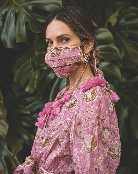 Woodblock Mask | Wildflower Accessories Cleobella