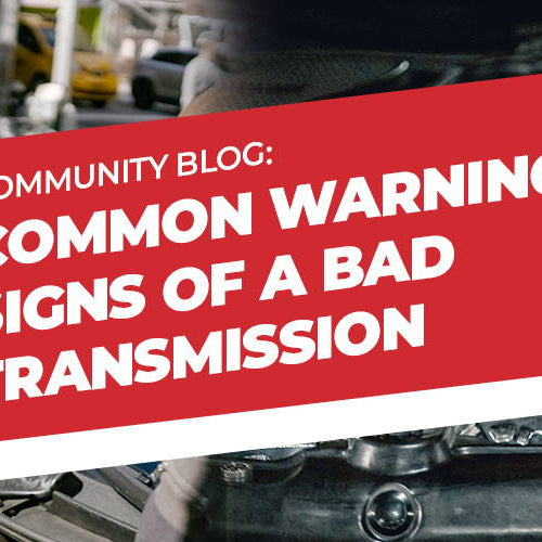 Common Warning Signs of a Bad Transmission