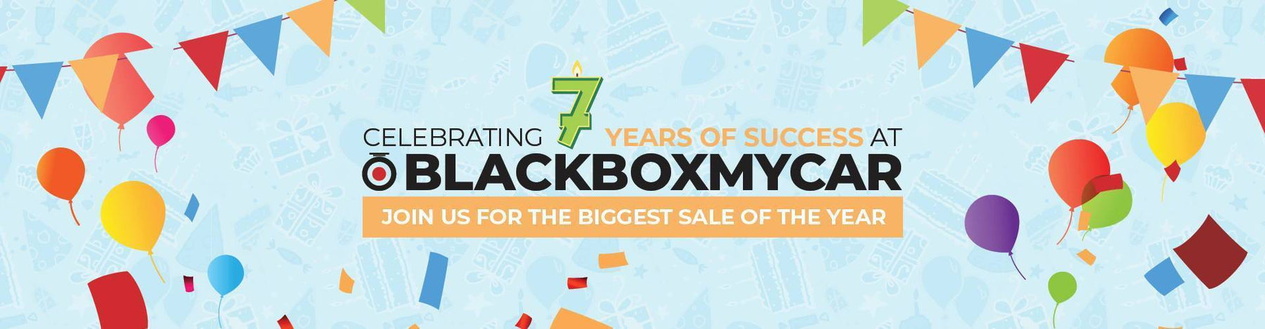 Celebrating Our 7th Year Anniversary at BlackboxMyCar
