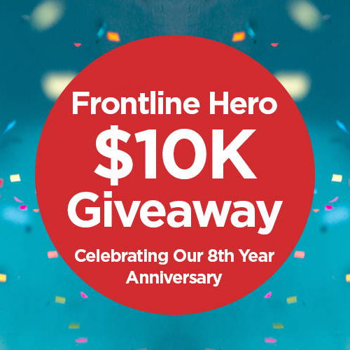 Celebrating 8 Years with Our Biggest $10K Giveaway