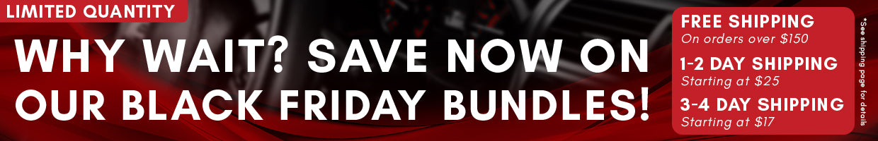 Why wait? Our Black Friday Specials have arrived!