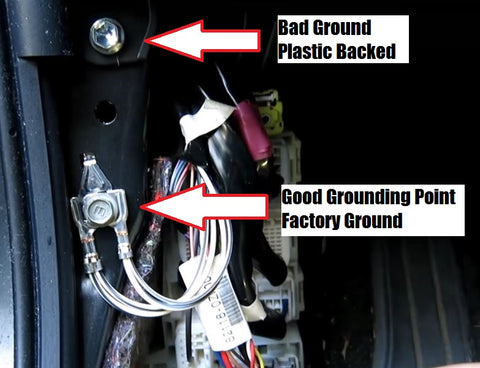 Corolla Ground Hardwire