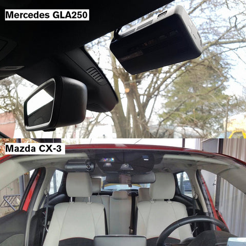 Thinkware F770 Mercedes Mazda CX3 GLA