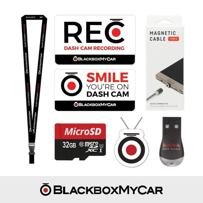 BlackboxMyCar Dash Cam Accessories Type-C BlackboxMyCar Starter Pack BSP3