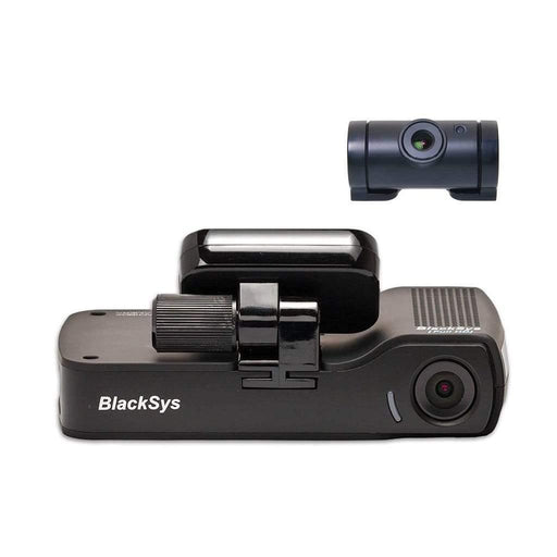 BlackSys Dash Cams [REFURBISHED] BlackSys CH-100B 2-CH WiFi Dash Cam