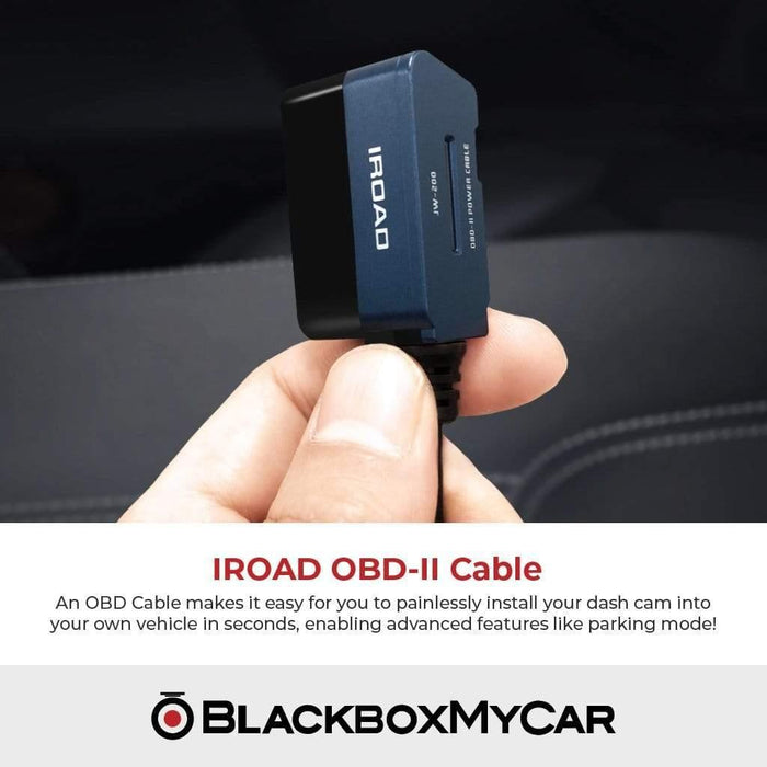 IROAD Dash Cams IROAD X1 1-CH WiFi Dash Cam + FREE 6 Months Extended Warranty