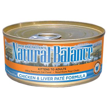Natural Balance® Ultra Premium Chicken and Liver Pate Canned Formula 24 x 5.5 oz - Naturally Urban Pet Food Shipping