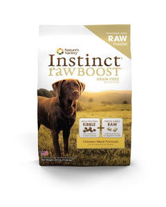 Nature's Variety Instinct Raw Boost Grain free Chicken Meal Formula Kibble for Dogs  21 lbs. bag - Naturally Urban Pet Food Shipping
