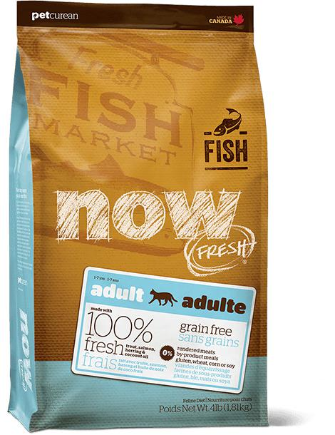 Now Fresh - Grain Free Fish Recipe for Adults 16 lbs. - Naturally Urban Pet Food Shipping