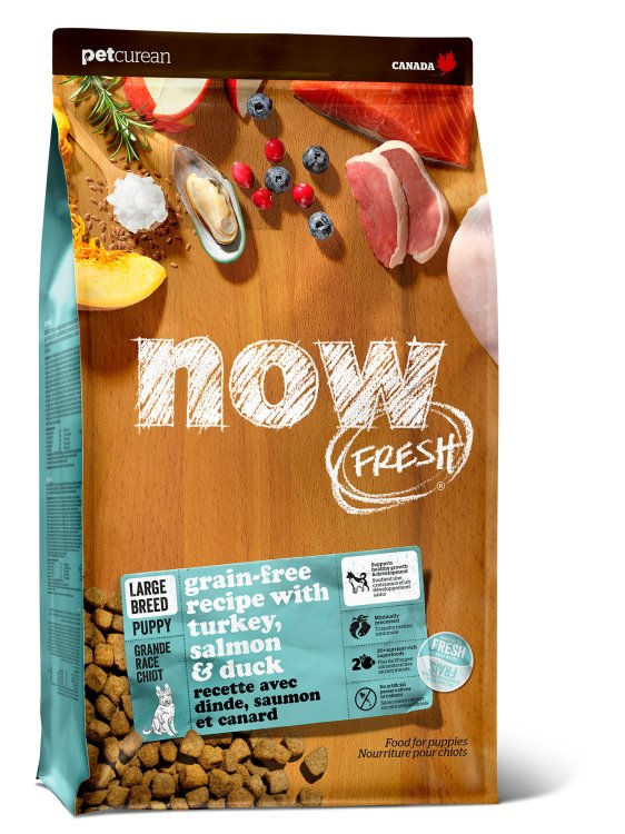 Now Fresh - Grain Free Large Breed Puppy Recipe 25 lbs.