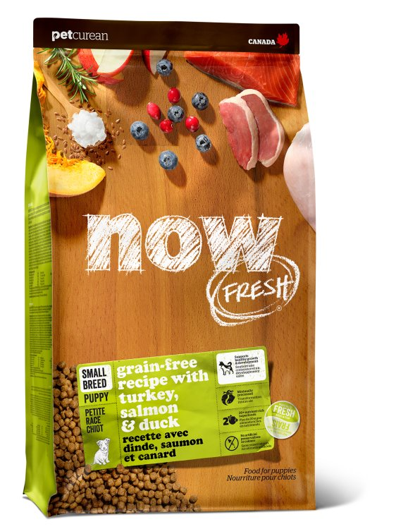 Now Fresh - Grain Free Small Breed Puppy  Recipe 12 lbs