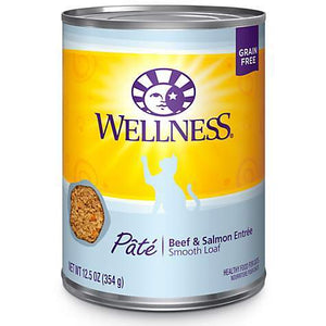 Wellness Complete  Canned Beef & Salmon Recipe 12 x 12.5 oz. cans - Pet Food Online by Naturally Urban