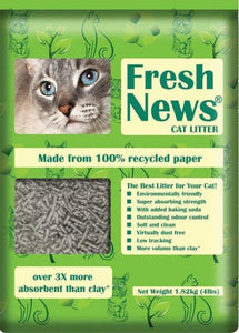 Fresh News Paper Litter 25 lbs. - must be sold with other product. - Naturally Urban Pet Food Shipping