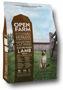 Open Farm Pasture Raised Lamb Recipe for Cats 8lbs. - Naturally Urban Pet Food Shipping